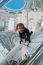 """Haute Tension"" d'Alain Robert"